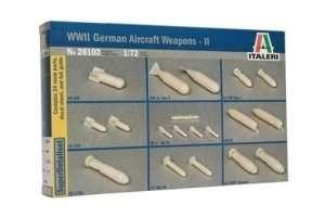 Italeri 26102 WWII German aircraft weapons II