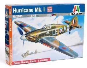 Italeri 2705 Hurricane Mk. I