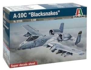 Italeri 2725 model samolotu A-10C Blacksnakes