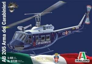 Italeri 2739 Helikopter AB 205 Arma dei Carabinieri