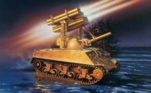 Italeri 288 M4A3 Sherman Calliope