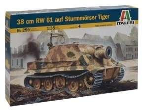 Italeri 299 38cm RW61 auf Sturmmörser Tiger