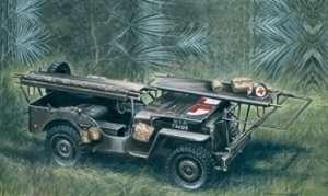 Italeri 326 1/4 ton 4x4 Ambulance Jeep