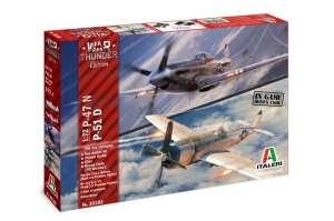 Italeri 35102 War Thunder P-47 N i P-51 D, 2 modele