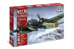 Italeri 35104 War Thunder Junkers Ju-88A-4 skala 1-72
