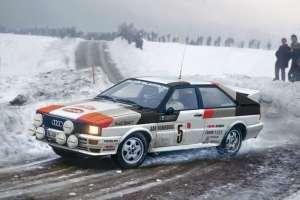 Italeri 3642 Samochód Audi Quattro Rally