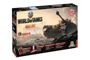 Italeri 36513 Panzer IV - model z serii World of Tanks