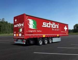 Italeri 3918 Curtainside Trailer schoeni