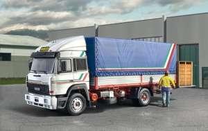 Italeri 3939 Iveco Turbostar 190-42 Canvas Whit Elevator