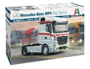 Italeri 3948 Ciężarówka Mercedes-Benz MP4 Big Space