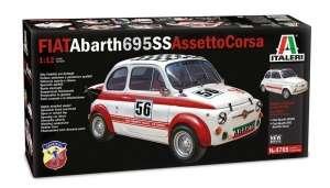 Italeri 4705 Fiat Abarth 695SS/Assetto Corsa skala 1:12
