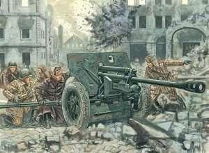 Italeri 6097 ZiS 3 AT Gun with servants