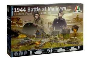 Italeri 6182 Zestaw modelarski - 1944 Battle at Malinava
