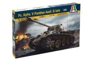 Italeri 6534 Tank Pz.Kpfw. V Panther Ausf. D Late