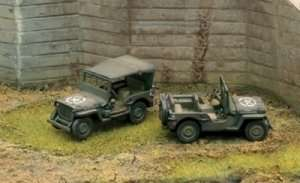 Italeri 7506 Willys Jeep - 2 modele
