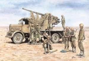 Italeri 7508 Autocannone Ro3 with 90/53 AA gun