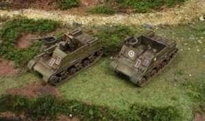 Italeri 7513 M7 Priest / Kangaroo - 2 modele