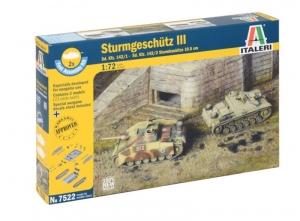 Italeri 7522 Sturmgeschutz III - 2 modele