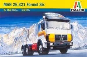 Italeri 756 Ciężarówka MAN 26.231 Formel Six