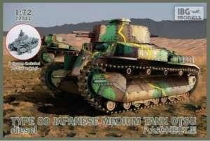 Japoński czołg Typ 89 OTSU IBG 72041 w skali 1-72