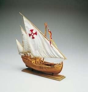 Karawela Nina - Amati 1411 - drewniany model w skali 1:65