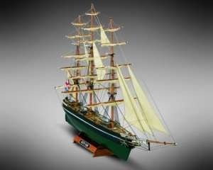 Kliper Cutty Sark - MM08 Mamoli - drewniany model w skali 1-250