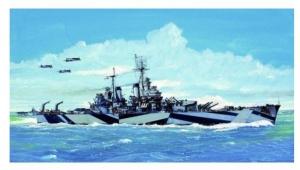 Krążownik USS Baltimore CA-68 1944 Trumpeter 05725