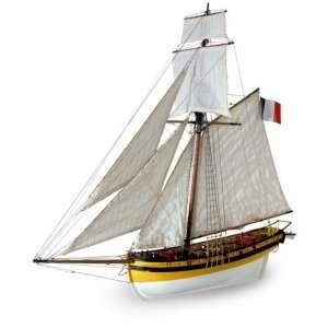 Kuter Le Renard - Artesania 22401 - drewniany statek skala 1-50