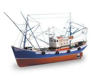 Kuter rybacki Carmen II - Artesania 18030 - drewniany statek skala 1-40