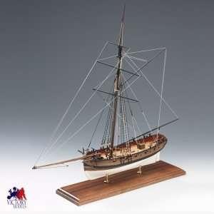 Lady Nelson - Amati 1300/01 - drewniany model w skali 1:64
