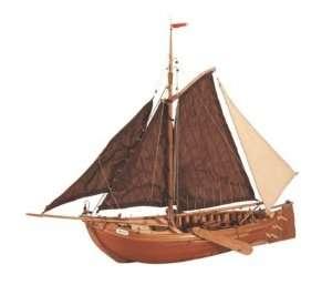 Łódź rybacka Botter - Artesania 22120 - drewniany statek skala 1-35