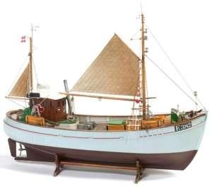 Łódź rybacka Mary Ann - BB472 - drewniany statek skala 1-33