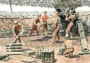 MB 3577 US Artillery Crew (Vietnam War 1965-1973)