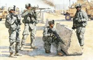 MB 3591 US Check Point in Iraq