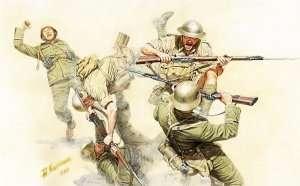 MB 3592 Ręka w rękę walka brytyjskiej i niemieckiej piechoty