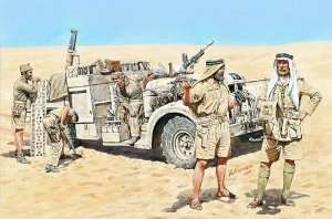 MB 3598 LRDG in North Africa