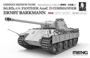Meng ES-003 Sd.Kfz.171 Panther Ausf.D Commander Barkman
