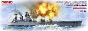 Meng PS-001 Royal Navy Battleship HMS Rodney (29)