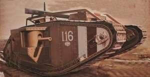 Meng TS-020 British Heavy Tank Mk.V Male WWI