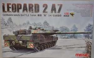 Meng TS-027 Leopard 2 A7 German main battle tank