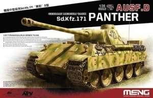 Meng TS-038 Czołg Pz.Kpfw.V Panther Ausf. D w skali 1-35