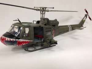 Merit 60028 U.S. Army Helicopter UH-1