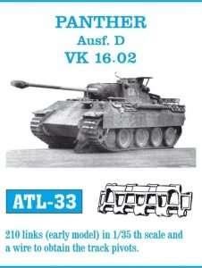 Metalowe gąsienice do Panther Ausf.D VK 16.02