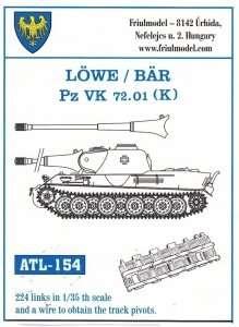 Metalowe gąsienice do czołgów Lowe, Bar, VK7201
