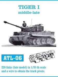 Metalowe gąsienice do czołgu Tiger I, Sturmtiger