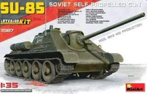 MiniArt 35187 SU-85 Soviet self-propelled gun