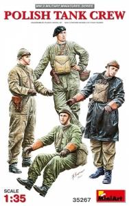 MiniArt 35267 Figurki polska załoga czołgu skala 1-35