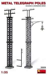 MiniArt 35529 Metal Telegraph Poles