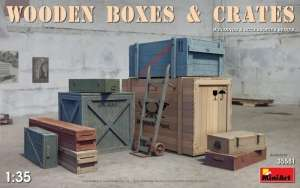 MiniArt 35581 Wooden Boxes and Crates