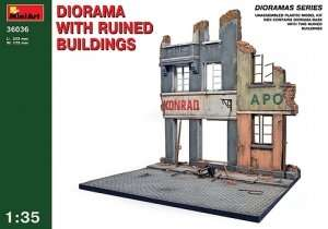 MiniArt 36036 Diorama w/Ruined Buildings